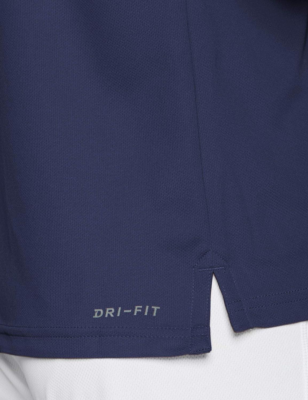 Blue Void//Orange Peel//Orange Peel 492 Blu Taglia Produttore:M Uomo Nike M NKCT Dry Polo Team Polo Medium
