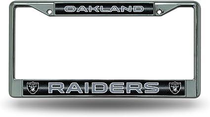 NFL Rico Industries  Laser Cut Inlaid Standard Chrome License Plate Frame Dallas Cowboys