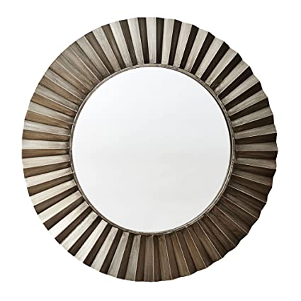 Wonderful Amazon.com: Household Essentials Round Decorative Sunburst Wall  FP16