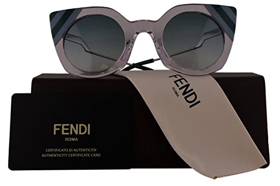 4c71e44e41 Fendi Authentic Sunglasses FF0240 S Pink w Green Gradient Lens 35J9K FF 0240  S F0240 S FF0240S F0240S (47mm)  Amazon.co.uk  Clothing