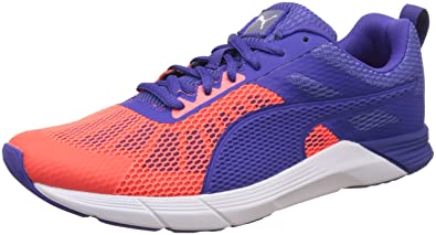 Puma Women's Propel Wn's Red Blast, Royal Blue and Puma White Running Shoes  - 3