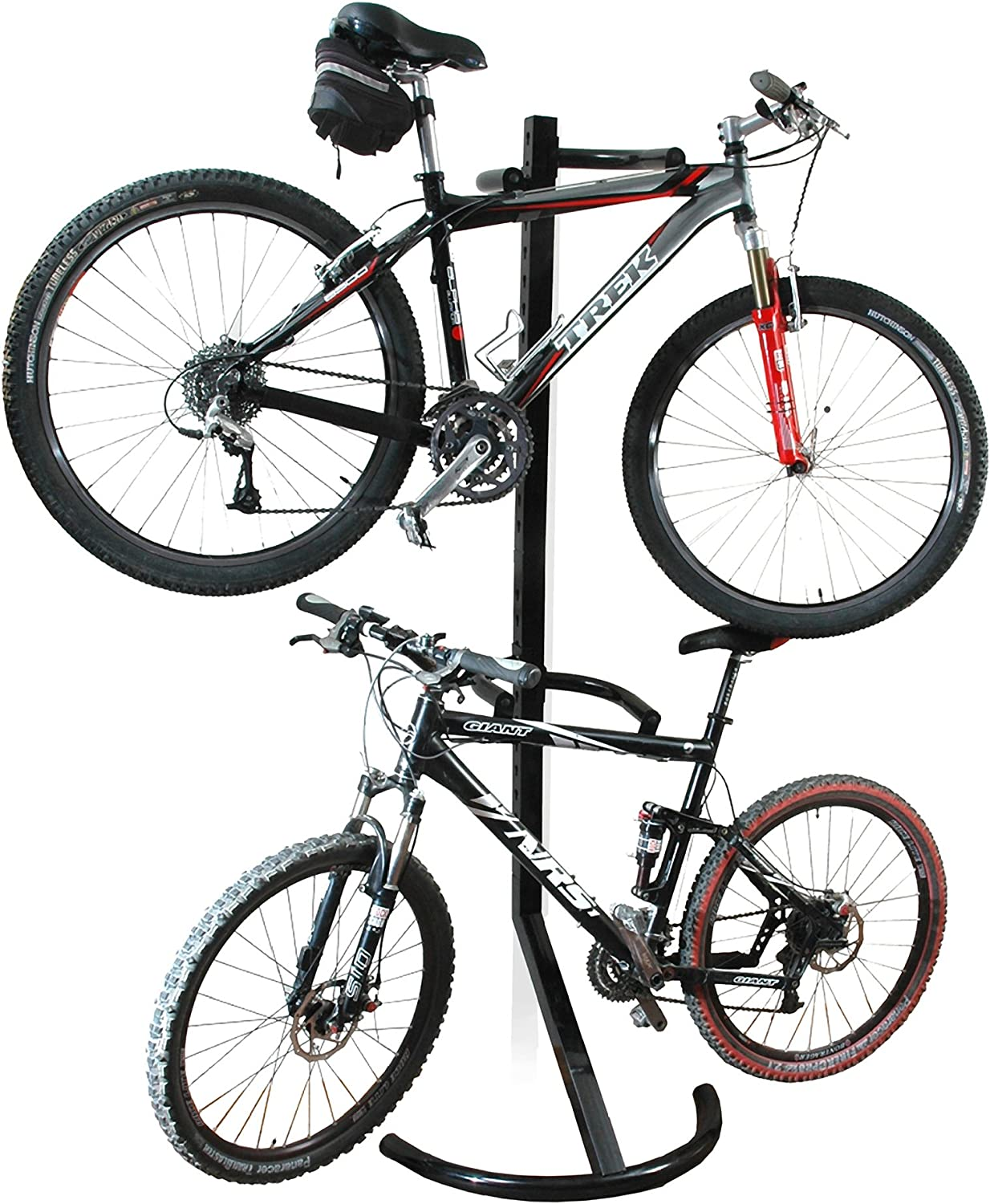 Wall-mounted Mountain bikes NFLOBD 2 Pcs Bicycle Hook hanging Portable Cycle Storage Rack Parking Buckle with Taillight Mountain Bike Display Stand Clip for bicycles