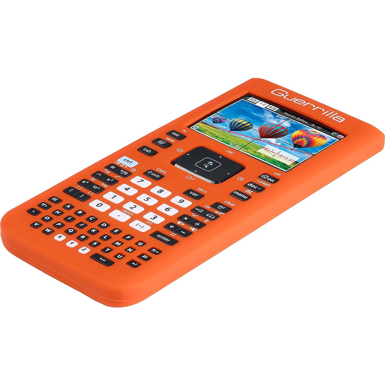 Guerrilla Silicone Case for Texas Instruments TI Nspire CX//CX CAS Graphing Calculator Purple