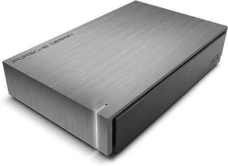 LaCie Porsche Design 3TB External Hard Drive for Desktop Laptops  USB 3.0