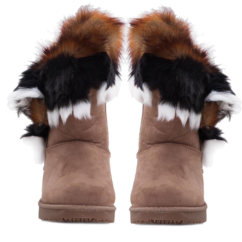 Toocool - Stivali bassi donna scamosciati interno pelliccia stivaletti  caldi scarpe 5192  Amazon.it  Scarpe e borse 04afdb68fbf