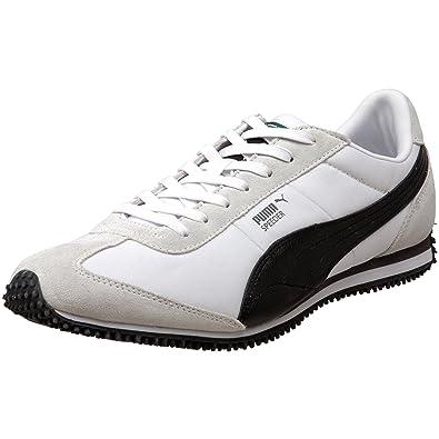 6bbfcf961 Puma -Speeder Rp Mens Sneakers, Size:13 UK, Color: White/Black/Steel ...