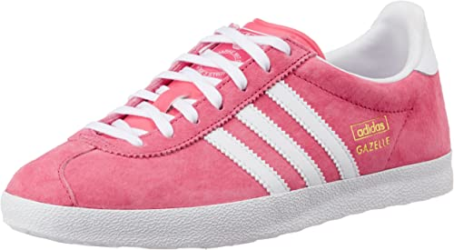 adidas gazelle femme rose et gris
