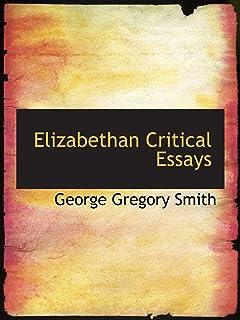 elizabethan essays t. s. eliot