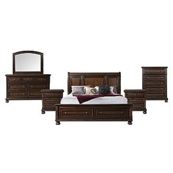 Picket House Furnishings Kingsley 6 Piece Queen Storage Bedroom Set