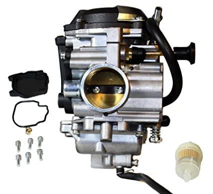 amazon com: carburetor for yamaha bear tracker 250 yfm250 beartracker yfm  250 1999-2004 atvs: automotive