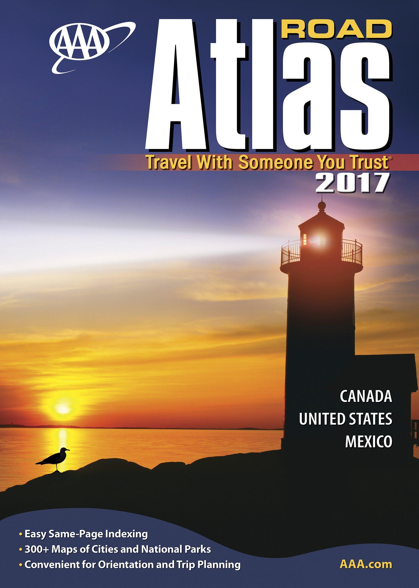 AAA Road Atlas Aaa North American Road Atlas AAA Travel - Does aaa have maps of the us