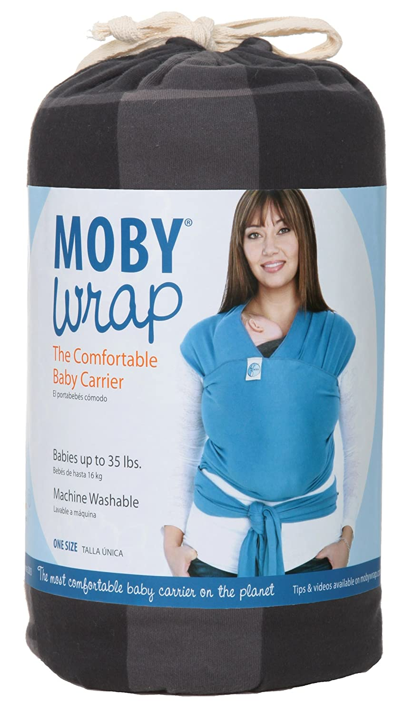 Amazon Com Moby Wrap Prints 100 Cotton Baby Carrier Chancellor