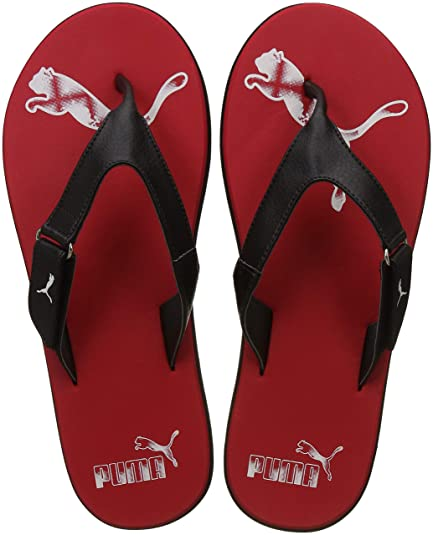 68331faf1061 Puma Men s Breeze 2 Ng Idp Barbados Cherry and Black Hawaii Thong Sandals -  11 UK