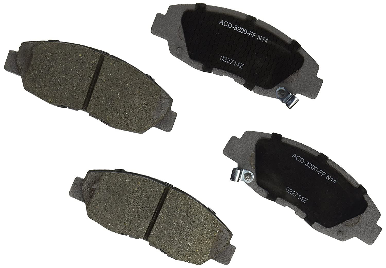 ACDelco 14D465ACH Advantage Ceramic Front Disc Brake Pad Set