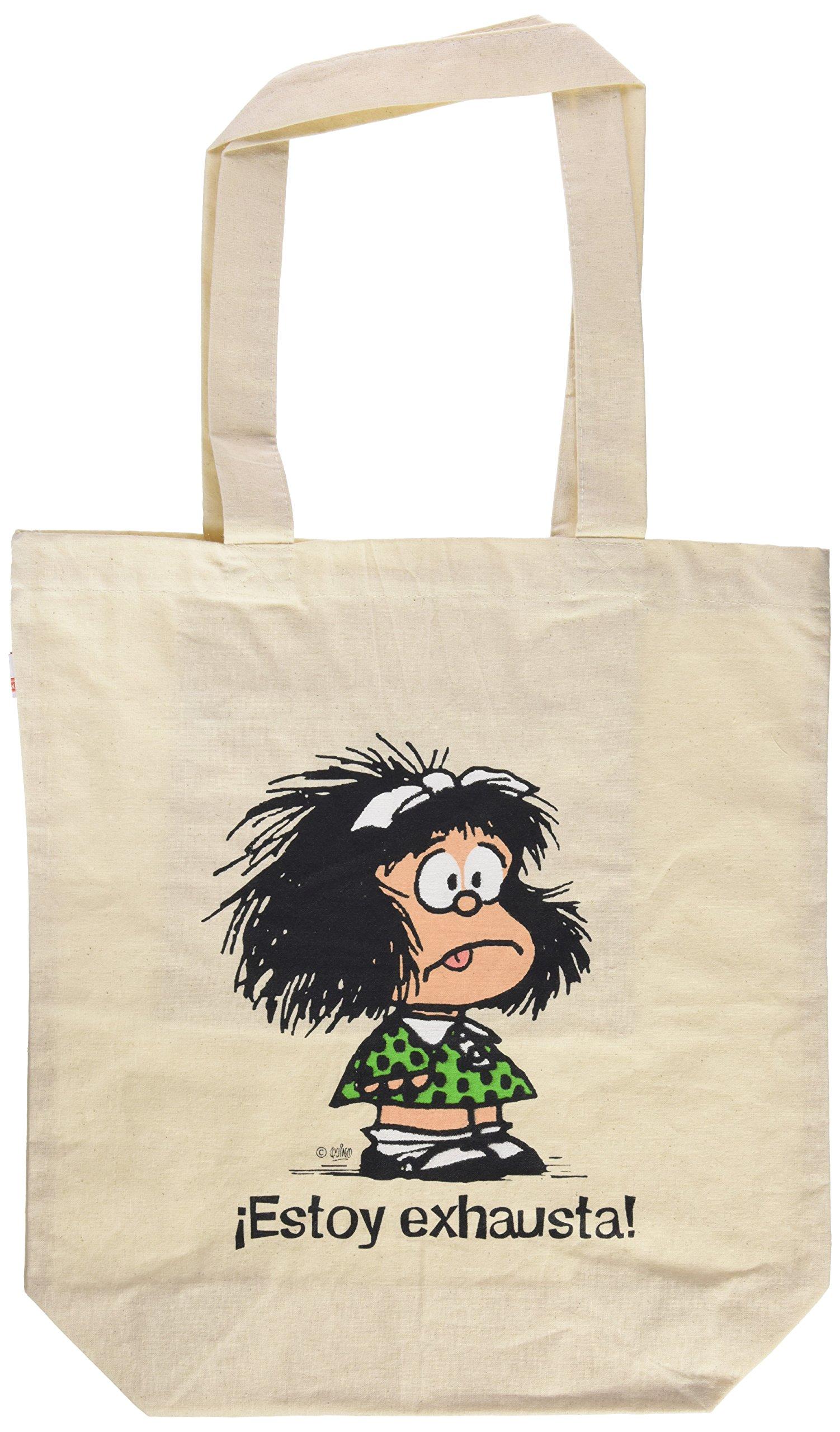 Bolsa Mafalda, Estoy exhausta: 9788862127721: Amazon.com: Books