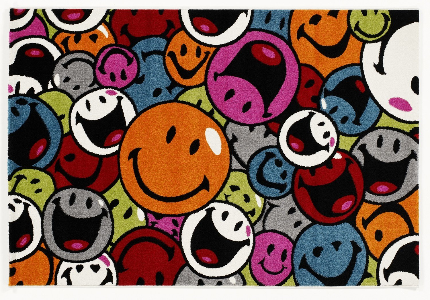 ARTWORK FACES moderner Designer Teppich bunt in multicolor, Größe  160x230 cm