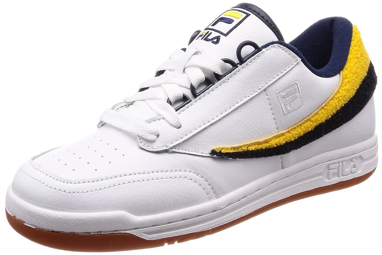 [フィラ] スニーカー メンズ original tennis バーシティー B078JCJB9P 29.0 cm ホワイト/ フィラ ネイビー/ ゴールド フュージョン