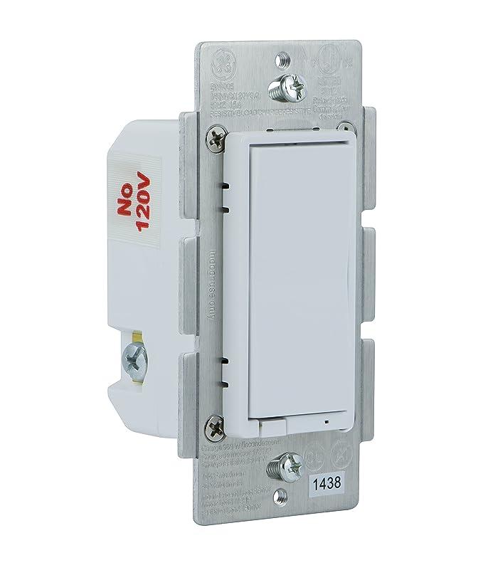 GE Z-Wave Wireless Smart Lighting Control Light Switch, On/Off ...