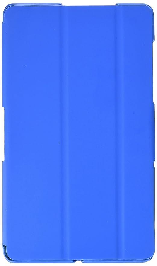 BQ E000474 - Funda Tipo Libro Edison 3 Mini, Color Azul