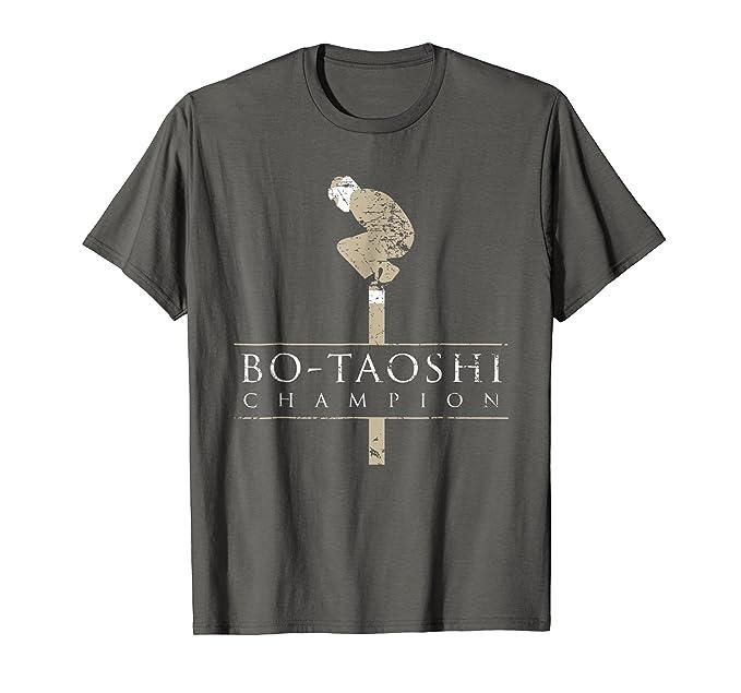 e6fe102739 Bo-Taoshi Champion Shirt, Funny Extreme Japanese Sport Gift: Amazon ...