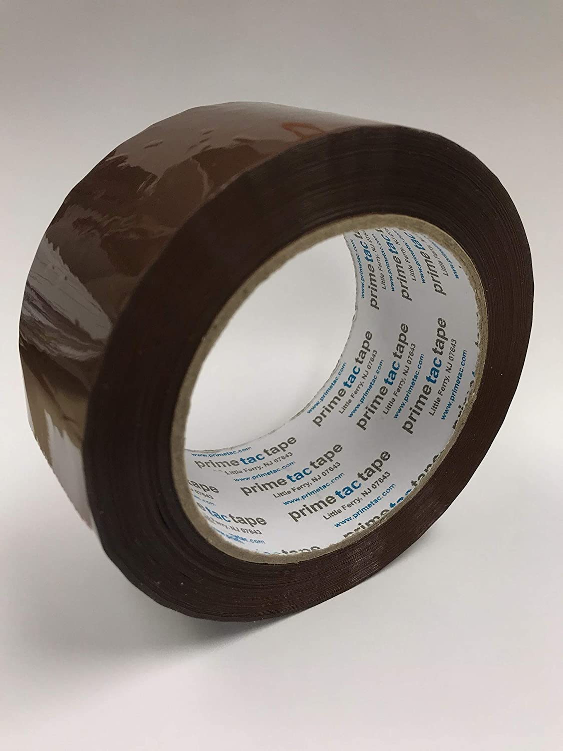 Primetac 401 2x110 CL Clear Acrylic Carton Sealing Tape 100 m Length 1.7 mil Thickness Pack of 36 Rolls 48 mm Width