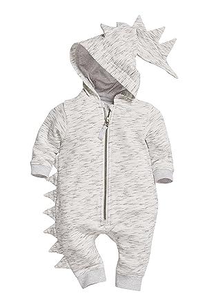 next Bebé Niño Pelele De Dinosaurio (0 Meses - 2 Años) Gris 1.5-2 años: Amazon.es: Ropa y accesorios