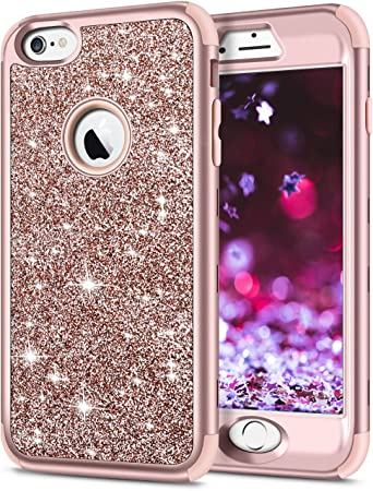 For Iphone 6 Plus 5.5 Inch Glitter Hard