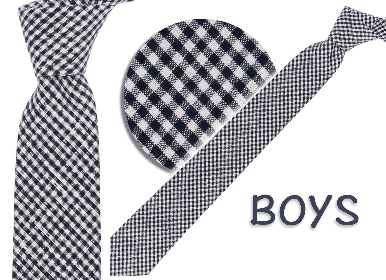 SEABLUE DESIGN Boys 100% Cotton Tie - Various Designs