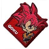 Dragonball Super Broly SSGSS Vegeta Patch new iron sew on