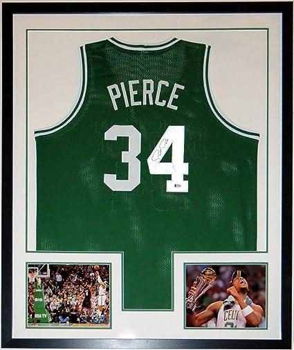 quality design e8347 d18ab Paul Pierce Authentic Signed Boston Celtics Jersey - Beckett ...