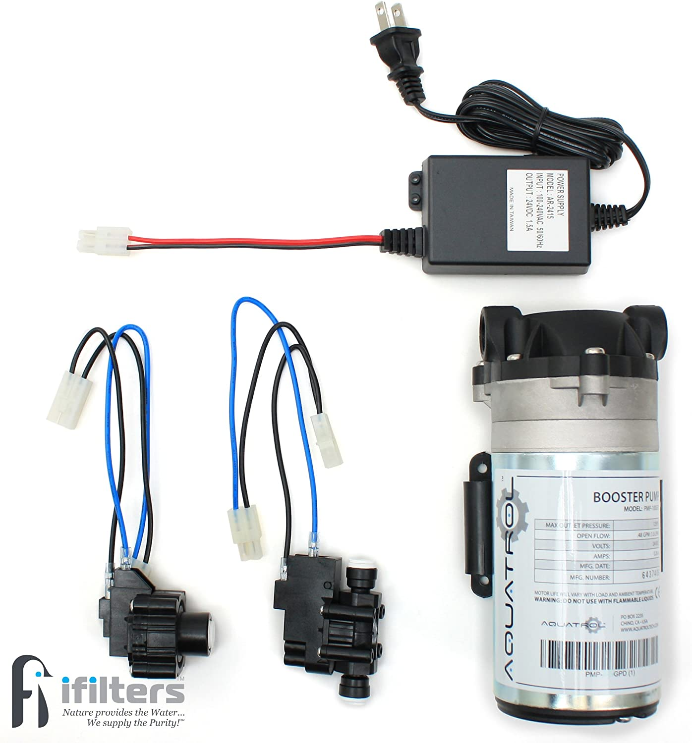 Hydronix BP100KIT Reverse Osmosis Booster Pump