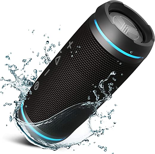 Bluetooth Speaker – Loud 360° HD Surround Sound, Wireless 25W Stereo, Loud Bass