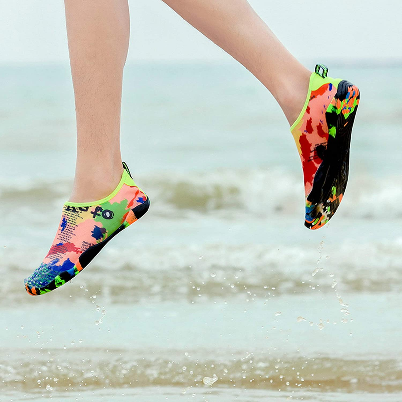 Water Sports Shoes Men Women Beach Swim Barefoot Skin Quick-Dry Aqua Socks Outdoor