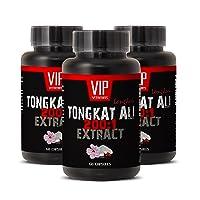Natural Enhancement Pills for Men - TONGKAT ALI Extract 200 to 1 - Tongkat ali for...