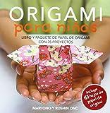 Origami para niños: Libro y paquete de papel de origami con 35 proyectos