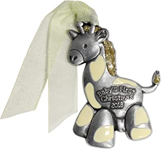 product image for Gloria Duchin Giraffe Baby's First Christmas Ornament, Multicolor