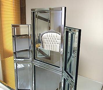 Modern Design Glass Venetian Dressing Table Mirror 1ft10 X 2ft7