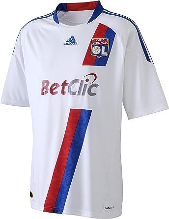 adidas OL H JSY Y OL - Camiseta de fútbol para niño, diseño de Olympique de Lyon (1ª equipación), Color Blanco: Amazon.es: Ropa y accesorios