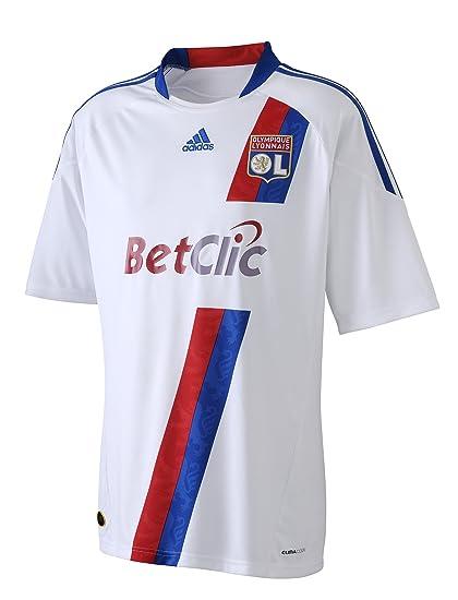 f9feb52a7 Adidas OL H JSY Y OL  Olympique Lyonnais  Boys  Home Football Jersey White  Whit