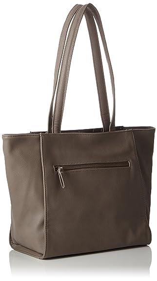 Damen Lilia Shopping Bag Shopper, Schwarz (Black 001), 39x26x15 cm Tamaris