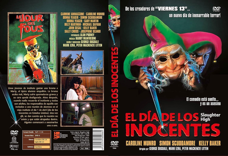 El Día de los inocentes [DVD]: Amazon.es: Caroline Munro, Simon Scuddamore, Carmine Iannaccone, Donna Yeager, Billy Hartman, Michael Safran, George Dugdale: ...
