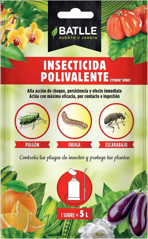 Semillas Batlle 730004BOLS, Insecticida Polivalente para 5 L: Amazon.es: Jardín