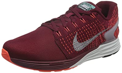 new product 479a7 36fc0 ... Nike Men s Lunarglide 7 Flash, TEAM RED REFLECT SILVER-HYPER ORANGE, ...