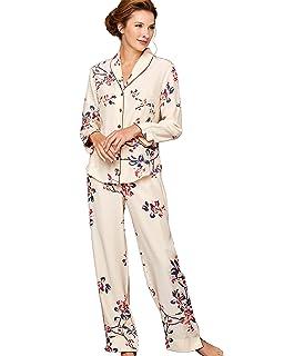 d08871a0d5 TexereSilk Women s 100% Silk Pajama Set - Luxury Sleepwear Pjs ...