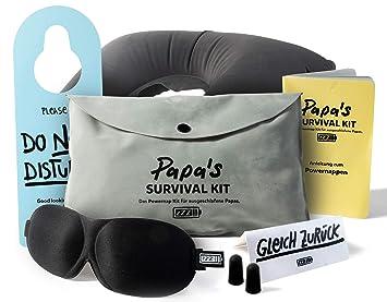 Papas Survival Kit Das Powernap Kit Geschenk Für Ausgeschlafene Papas Und Werdende Väter