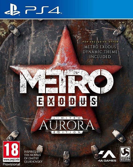 Metro Exodus Aurora Limited Edition - PlayStation 4 [Importación inglesa]: Amazon.es: Videojuegos
