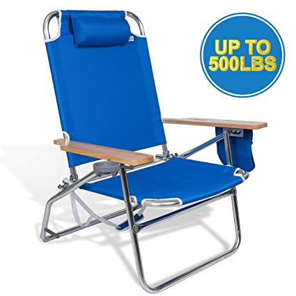 Pleasant Amazon Com Heavy Duty Folding Chair High Capacity 500Lbs Creativecarmelina Interior Chair Design Creativecarmelinacom