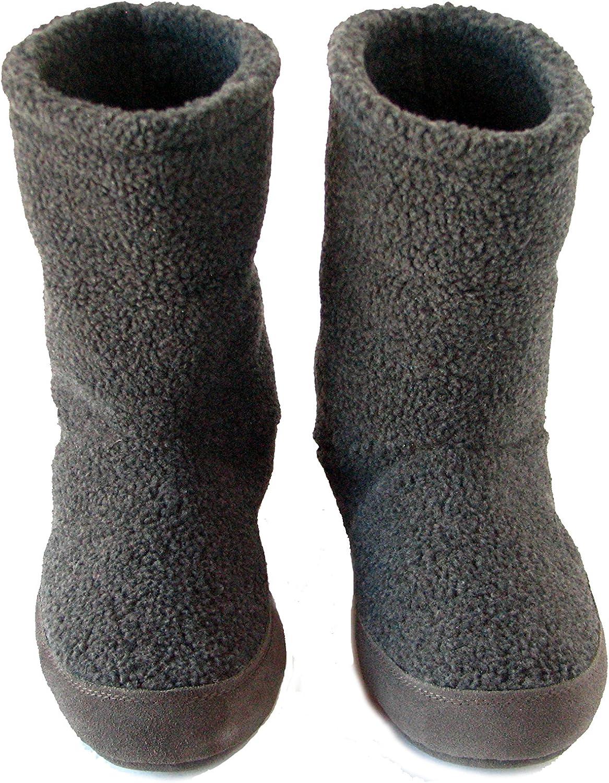 Polar Feet Mens Snugs Over The Ankle Slippers