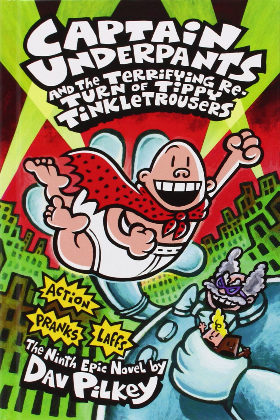 amazon com captain underpants and the terrifying return of tippy