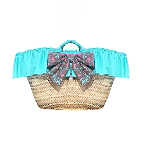NUECES Little Beach Bag, Sacs à dos fille, (Grecia), 23x21x36 cm (W x H x L)